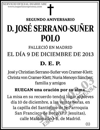José Serrano-Suñer Polo